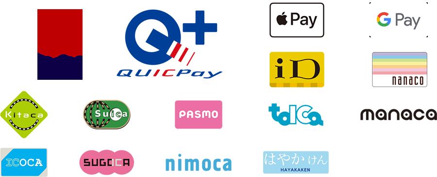 電子マネー、交通系IC